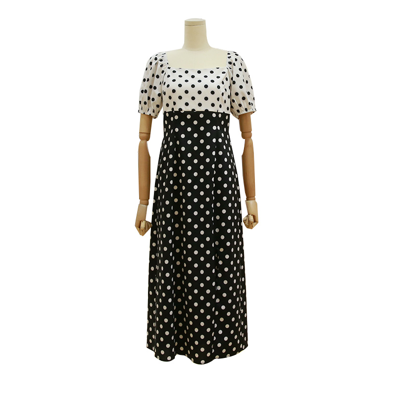 Polka Dots Dress for Women – Sale On Women Clothes In Pakistan.jpg