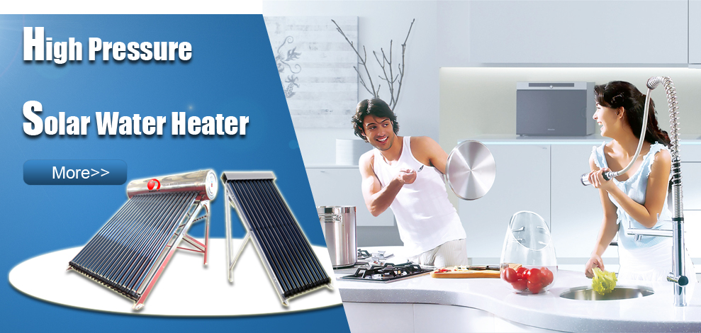 High quality ! split pressurized heat pipe solar water heater system for home hot water heating