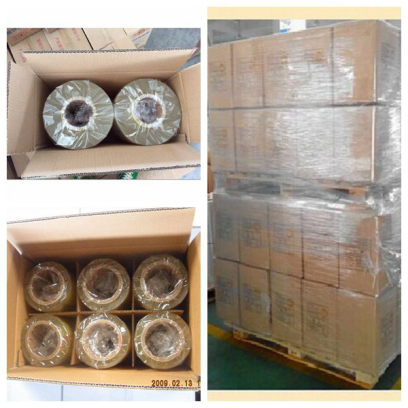 9-15 mic Super Clear PVC Cling Film for Vegetables Packing