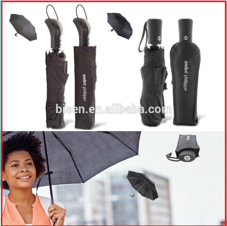 Top Quality 190T Pongee Fabric Promotional Umbrellas with LOGO printing