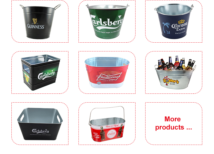 hot selling 2019 amazon metal ice bucket for bar