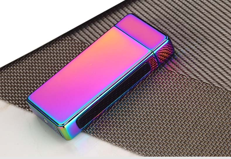 High Quality Light Smoking Accessories Windproof Electronic USB Custom Lighter