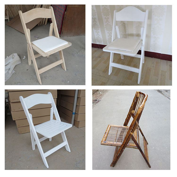 Hot Popular Style rental bamboo folding chair for various venues