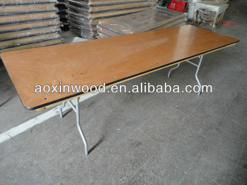 "High Quality 60"" Round Table Aluminium edge"