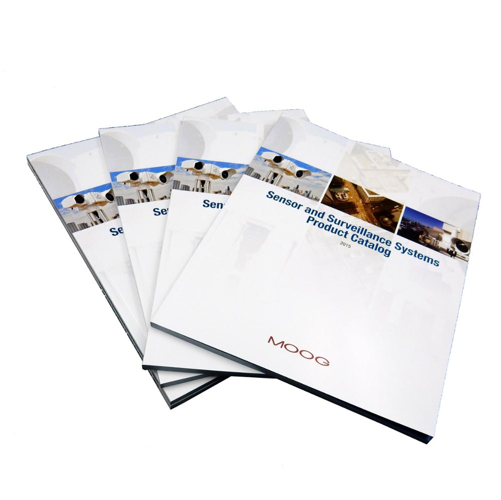128g art paper colour catalogue printing