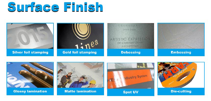 low cost good quality gold foil paper printing