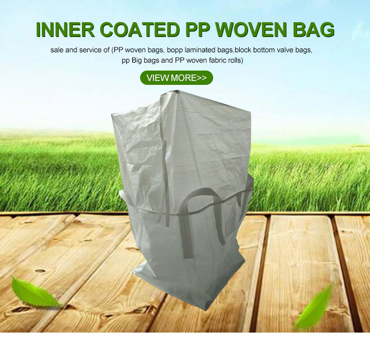 U-panel pp woven plastic  jumbo big scrap bags manufacturers