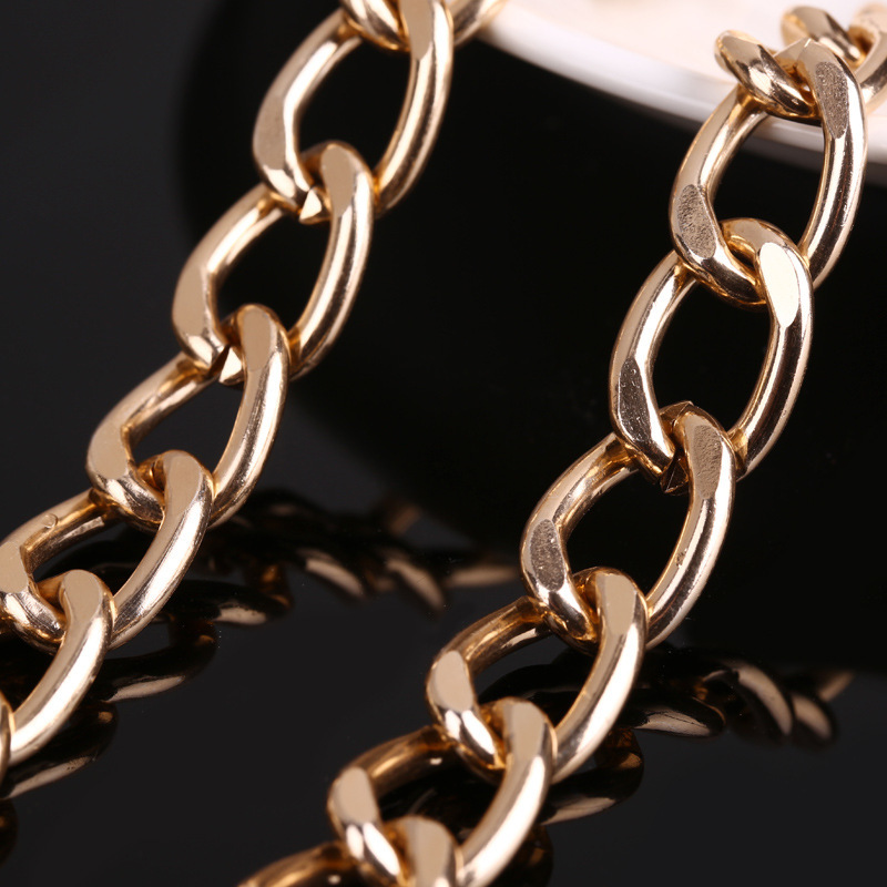 hip hop aluminum chain for jewellery