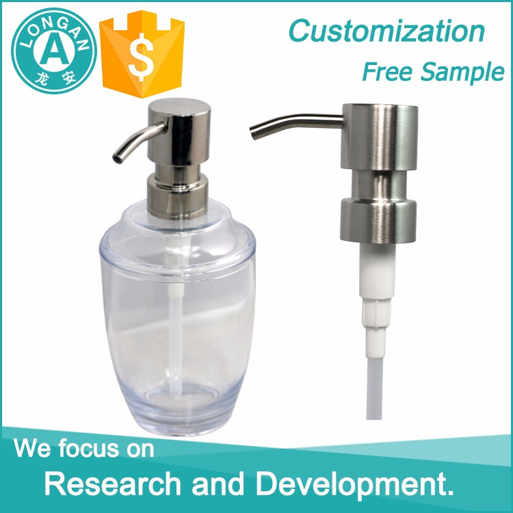 Factory supply competitive price liquid soap round bottles / foaming hand soap bottles