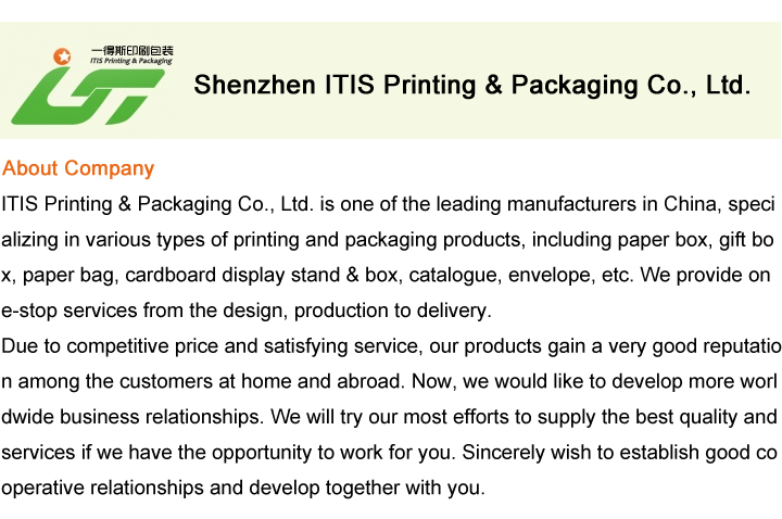 Professional OEM printing nice hard paper jewelry packaging box wholesale from China factory